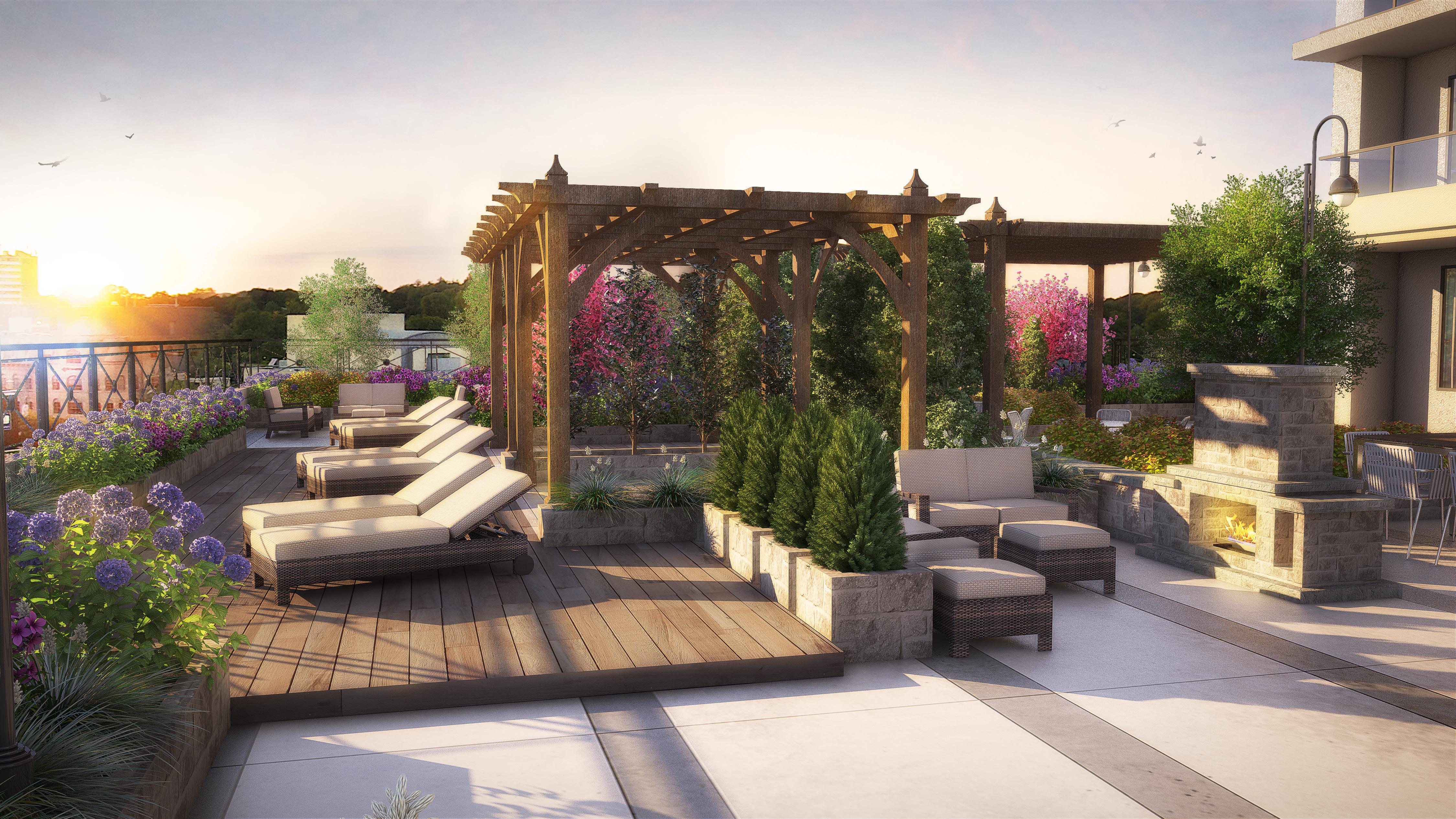 Dachterrassengestaltung  Roof terrace | Garden - Roofs & Patios | Pinterest | Pergolas ...